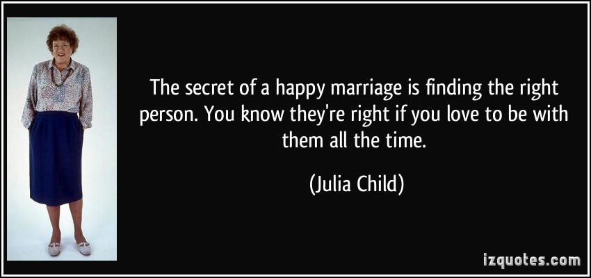 On Marrying The Right Person Quotes. QuotesGram