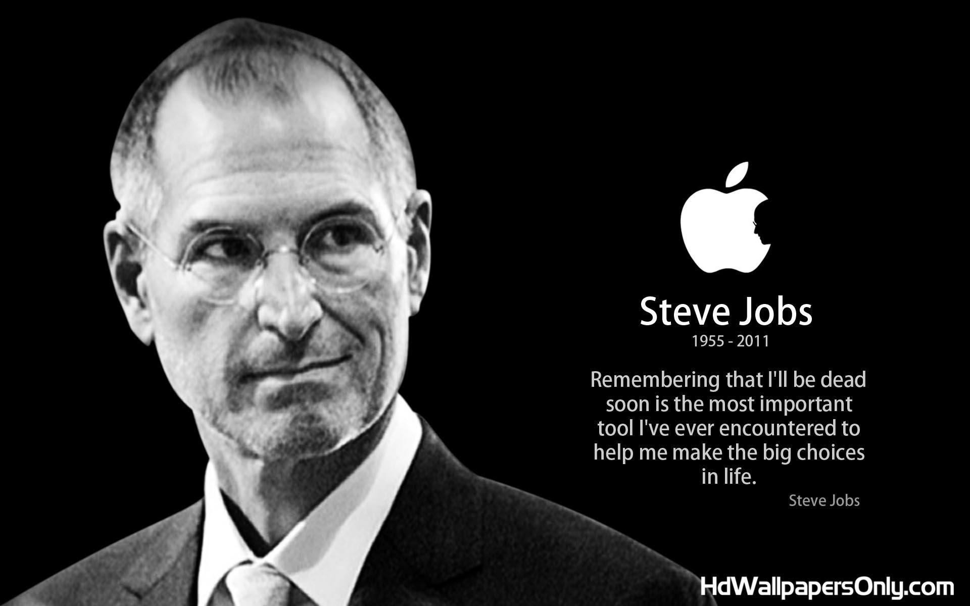 Steve Jobs Quotes About Life Quotesgram