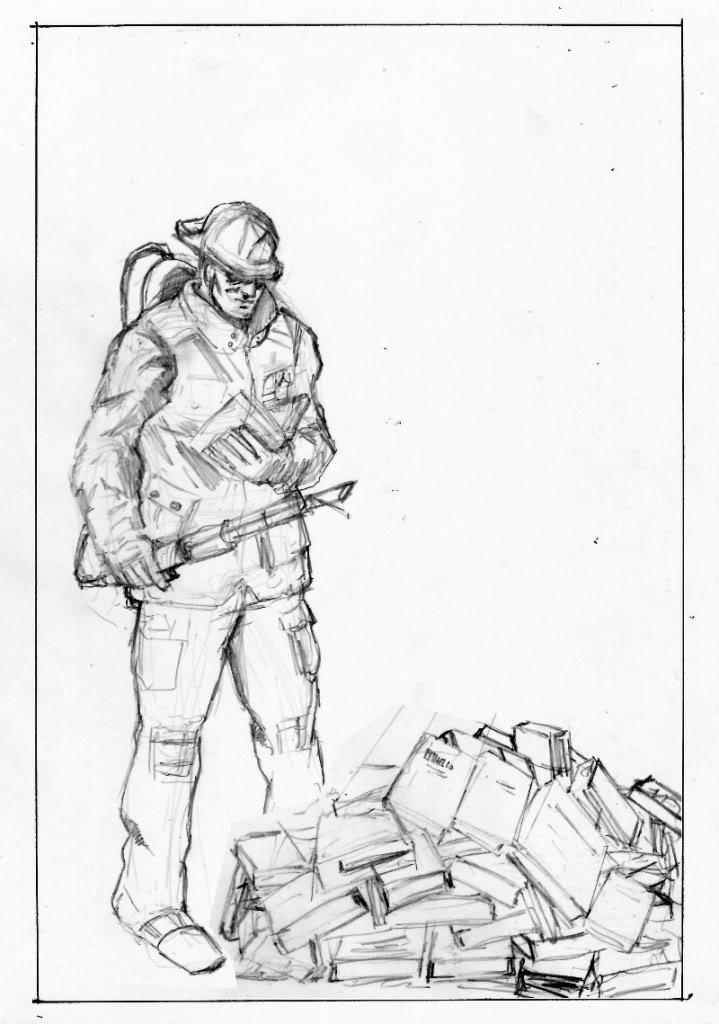 Fahrenheit 451 montag sketches