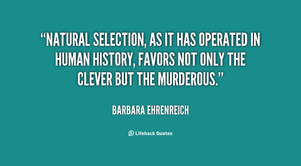 Natural Selection Motivational