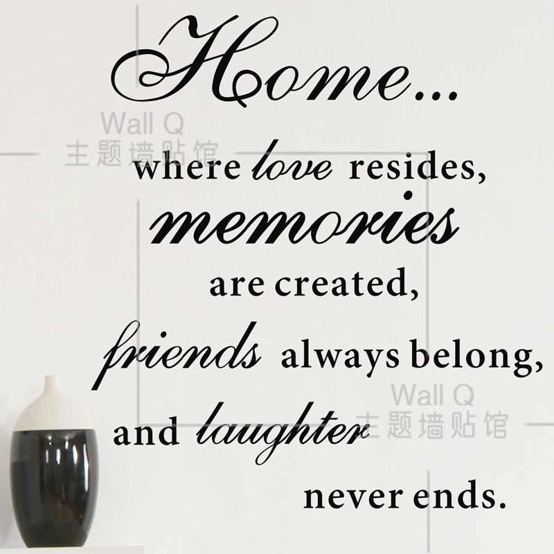 Welcome home quotes quotesgram for Tough exterior quotes
