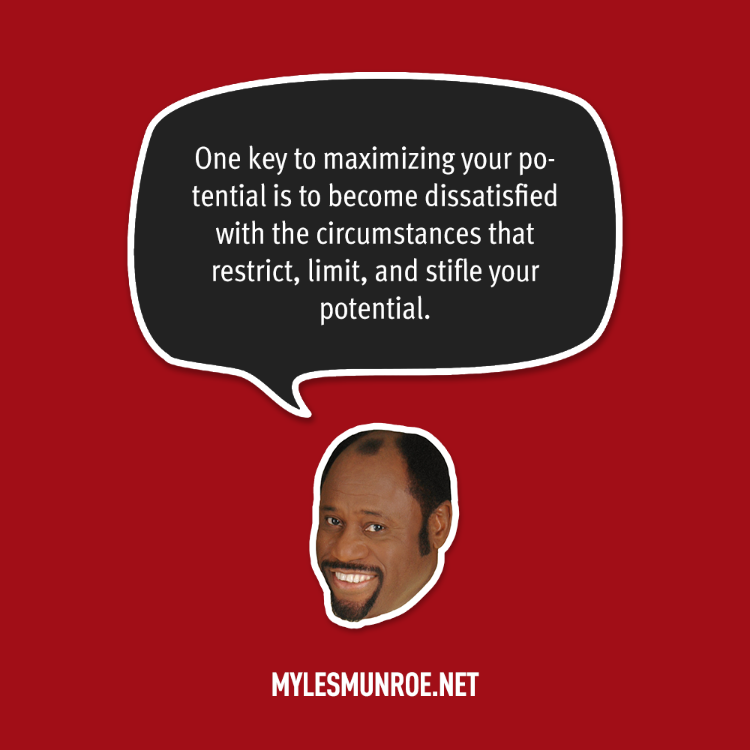 To Maximise The Potential Of: Myles Munroe Quotes Vision. QuotesGram