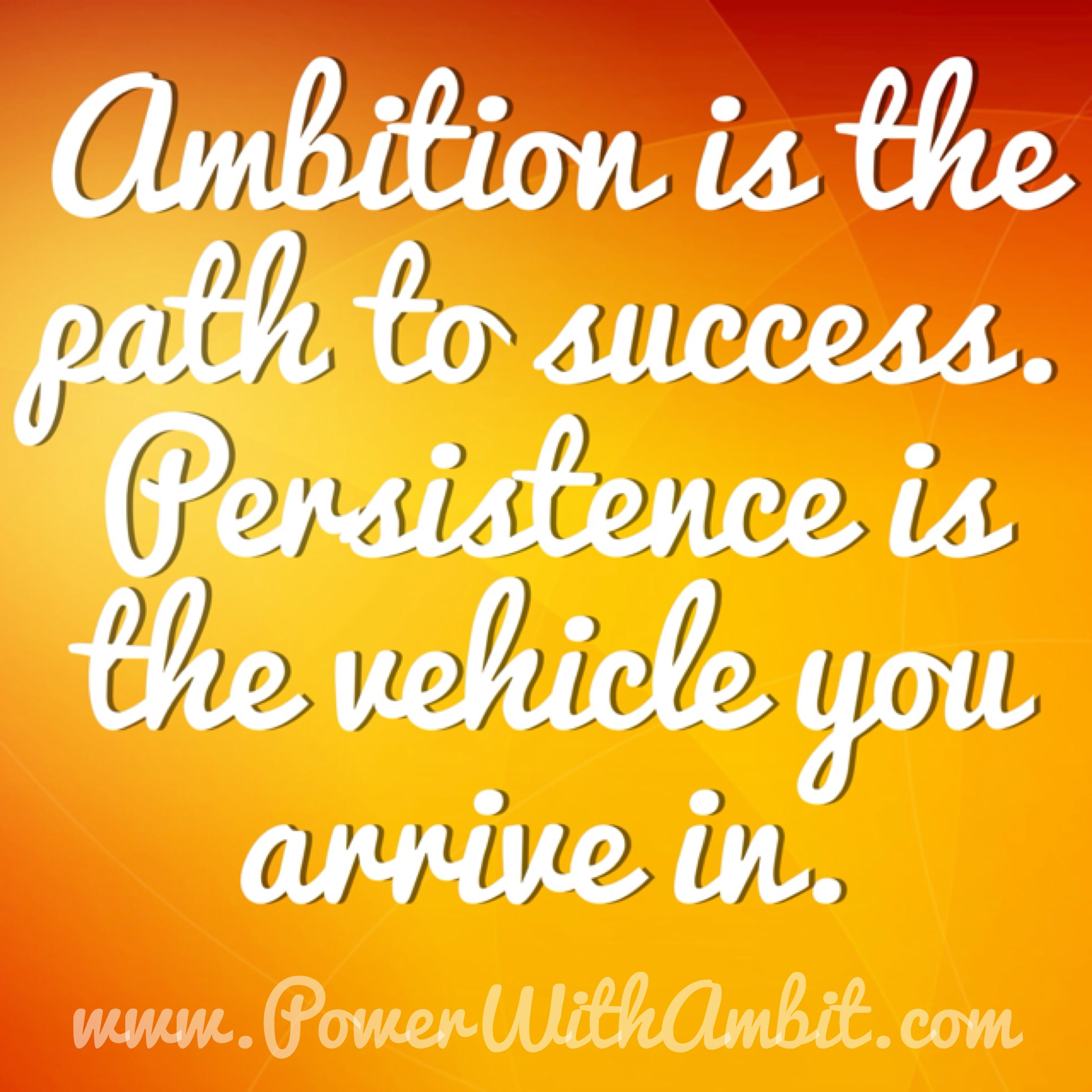 Quotations About Persistence: Persistence Success Quotes. QuotesGram