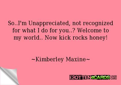 Mom Quotes Unappreciat...