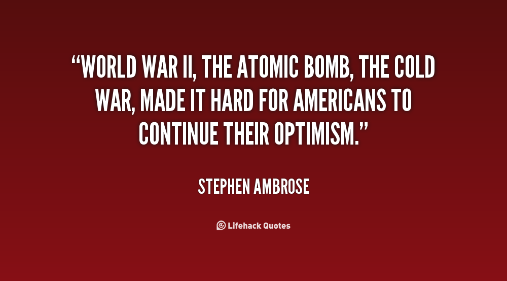 an analysis of the atomic bomb during of the world war ii The decision to use the atomic bomb the army forces in world war ii, vol preparations for dropping the two atomic bombs produced thus far had been under.