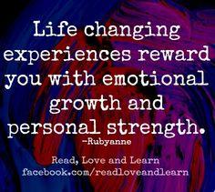 Life Changing Experiences Quotes. QuotesGram