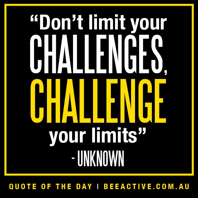 Quotes About Challenges: Inspirational Quotes For Health Challenges. QuotesGram