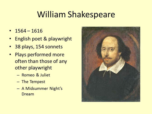 the early life family and literary career of william shakespeare