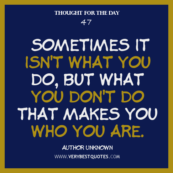 Thought For The Day Quotes: Quotes About Thoughts. QuotesGram