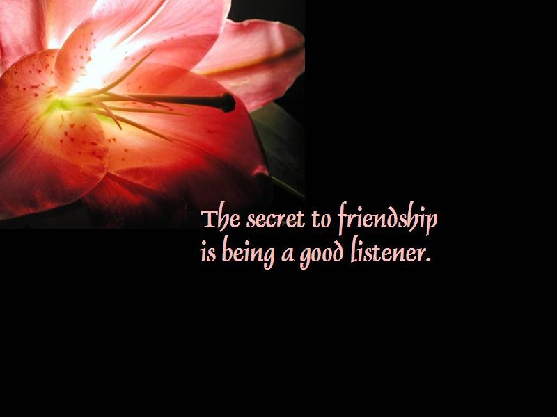 Simple Quotes About Friendship Quotesgram