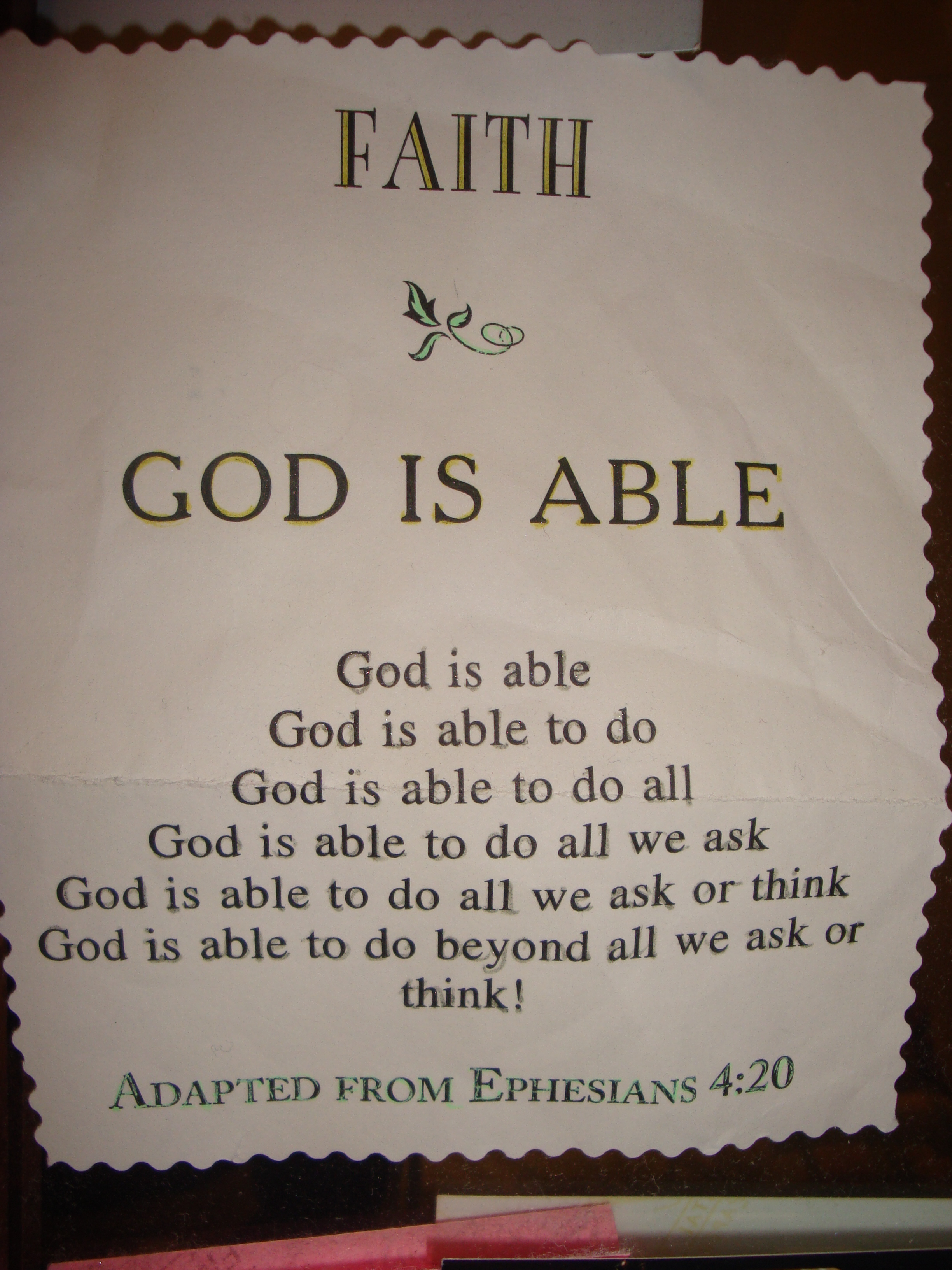 God Is Able Quotes Quotesgram