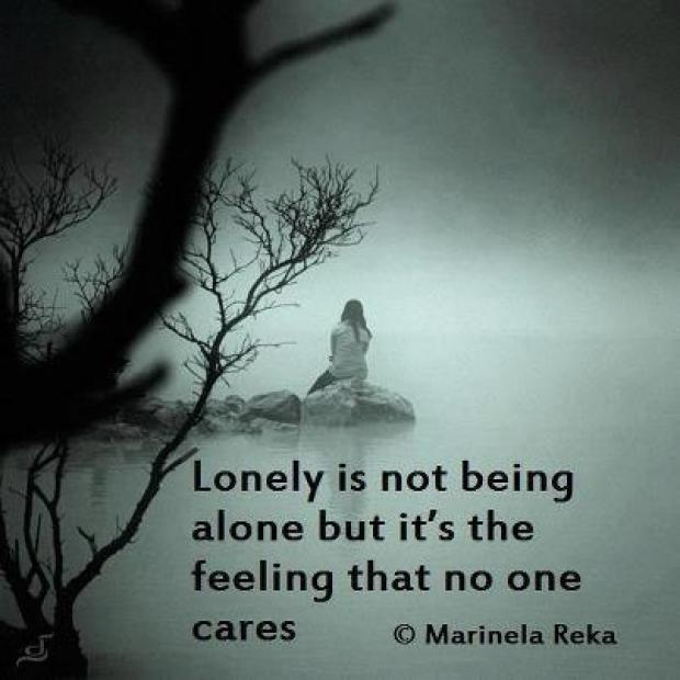 Quotes Feeling Sad And Alone: Quotes About Being Sad And Lonely. QuotesGram