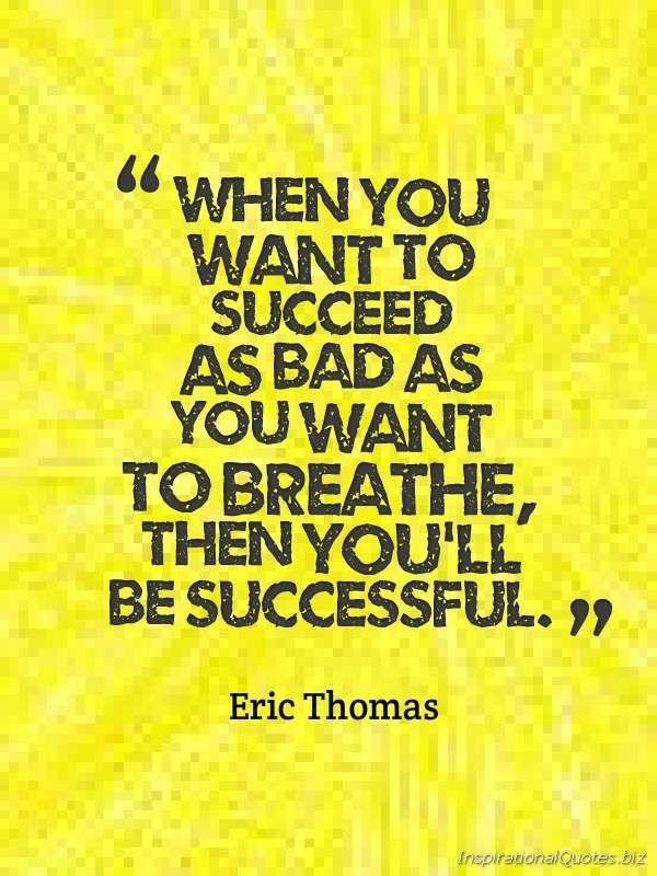 Motivational Quotes About Success: Eric Thomas Quotes On Success. QuotesGram