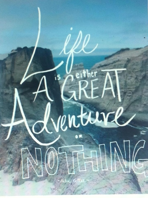 Adventure Quotes And Sayings Quotesgram