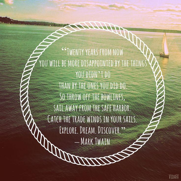 Sail Mark Twain Quotes Quotesgram