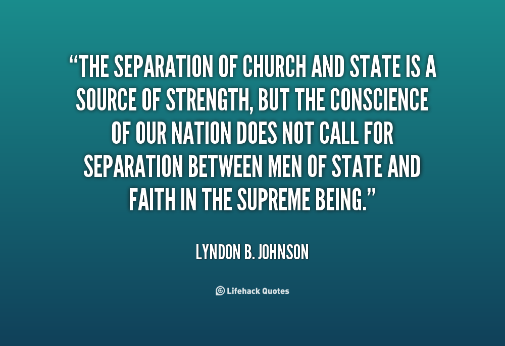 separation between church and state Dr patton is associate professor of economics at bellevue university, a liberal arts college located at bellevue, nebraska he is also editor of the bottom line, a.