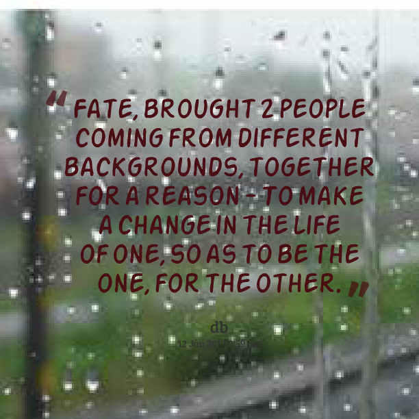 Quotes About Fate Best Quotes About Fate...