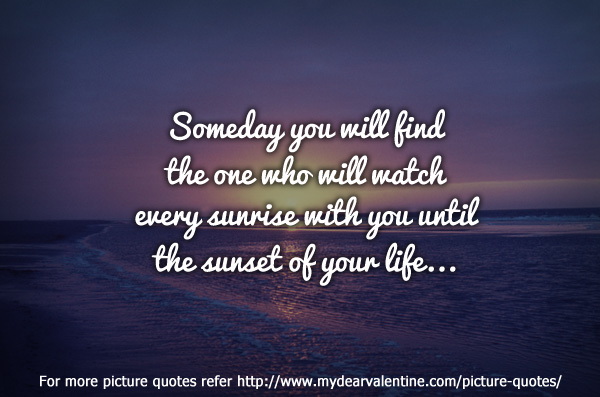 Love Finds You Quote: Finding Love Quotes. QuotesGram