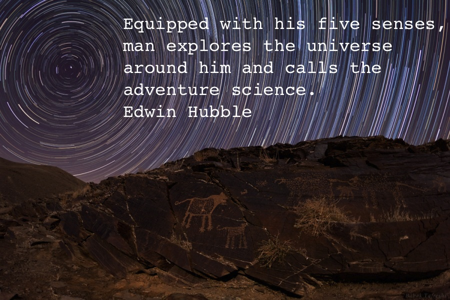 edwin hubble quotes - 900×600