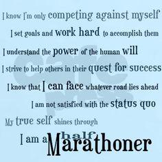 half marathon quotes quotesgram