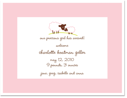 Baby Girl Birth Announcements Quotes QuotesGram – Baby Girl Birth Announcement Wording