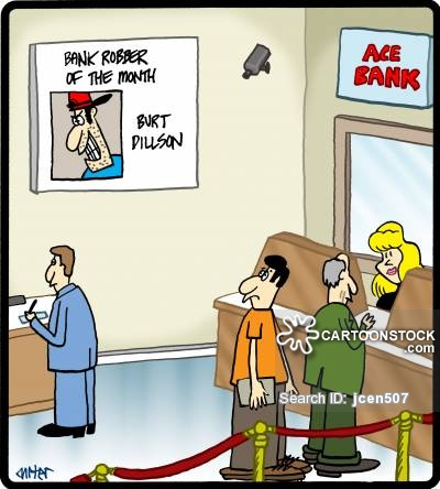 Bank Teller Cartoons and Comics - funny pictures from CartoonStock