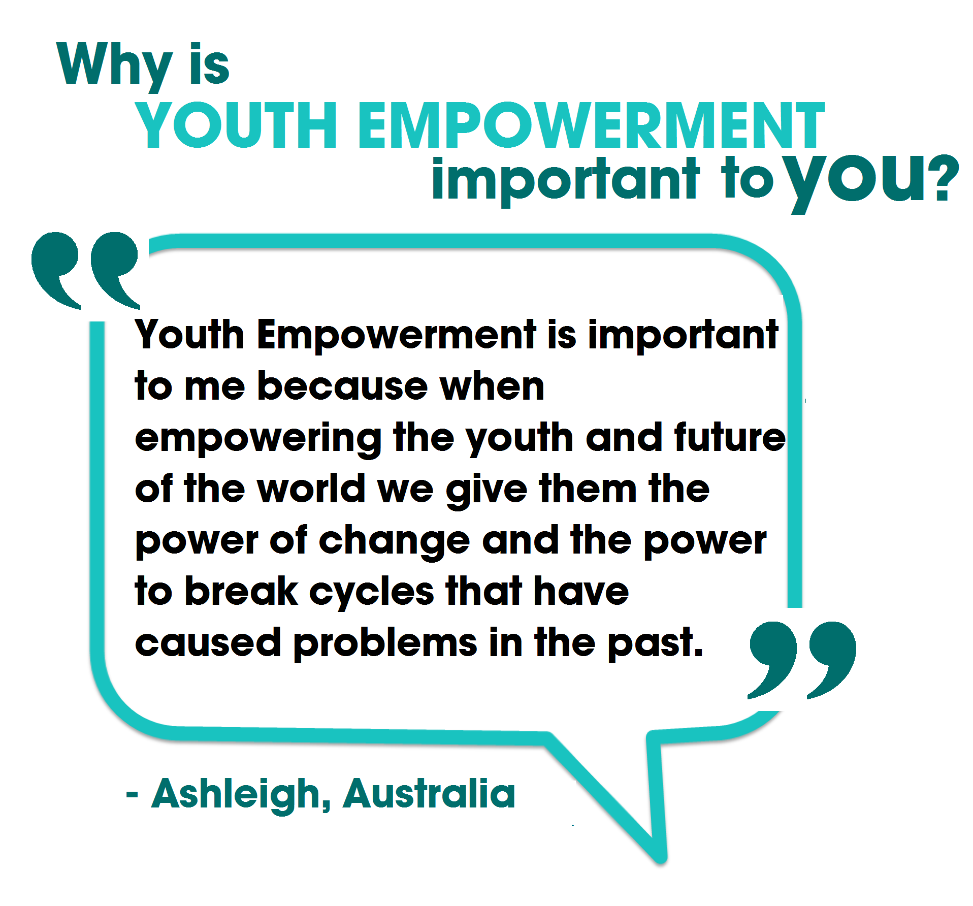 Youth Empowerment Quotes on Extreme Connect The Dots