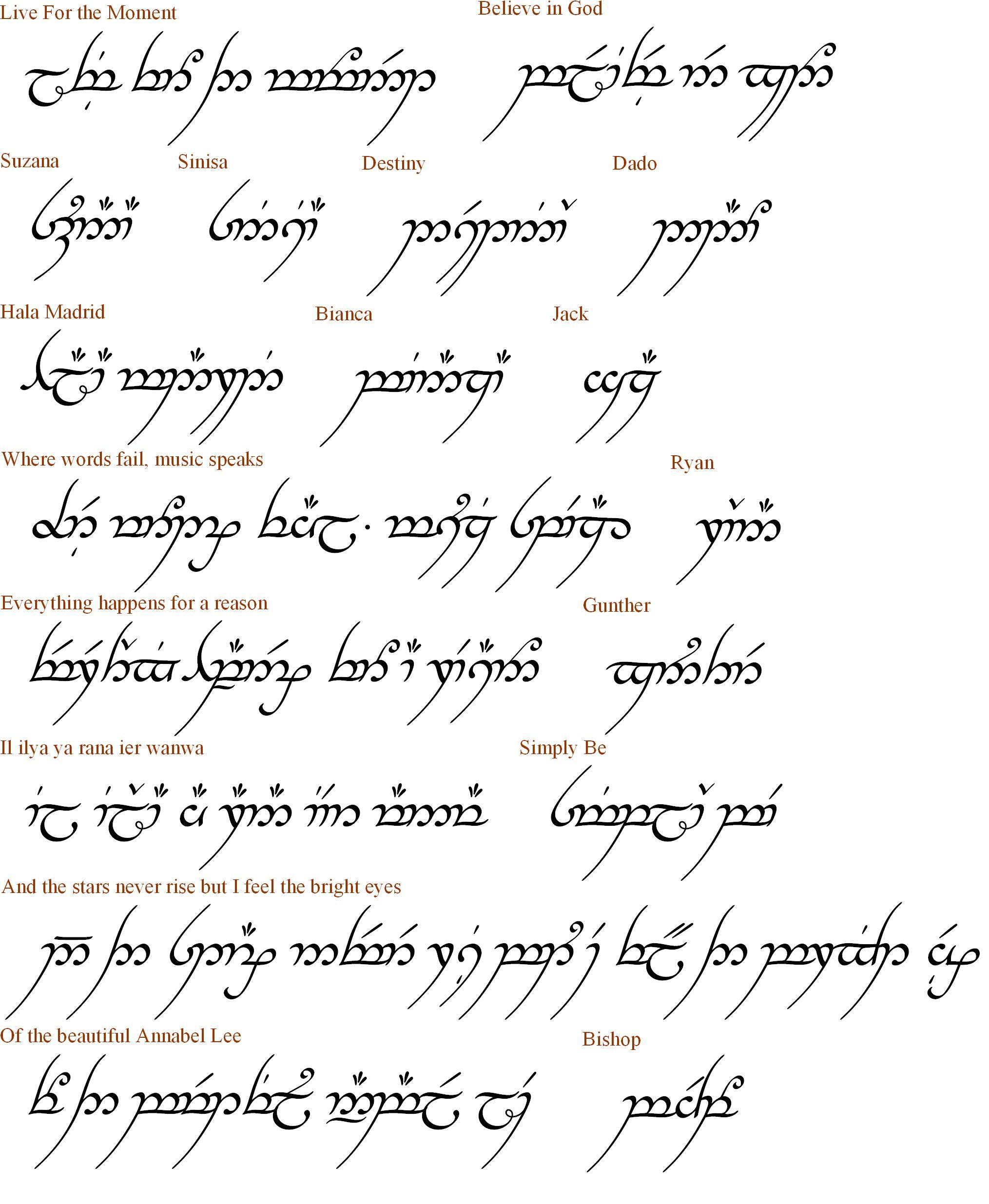Elvish Love Quotes. QuotesGram