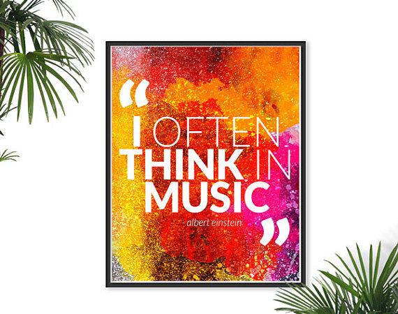 Music Quotes By Einstein. QuotesGram
