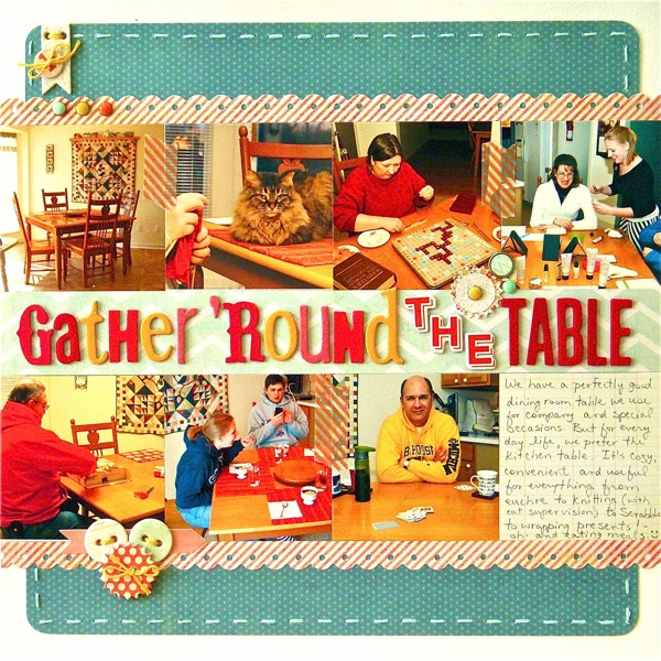 Quotes About Gathering Around The Table. QuotesGram