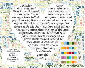 80th Birthday Inspirational Quotes. QuotesGram