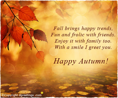 Autumn Greetings Images And Quotes. QuotesGram