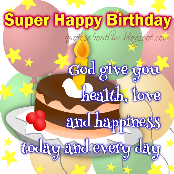 Inspirational Birthday Quotes For Him. QuotesGram