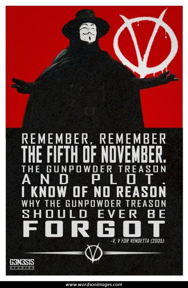 V For Vendetta Memorable Quotes. QuotesGram