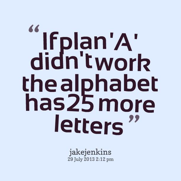 Plan Quotes. QuotesGram
