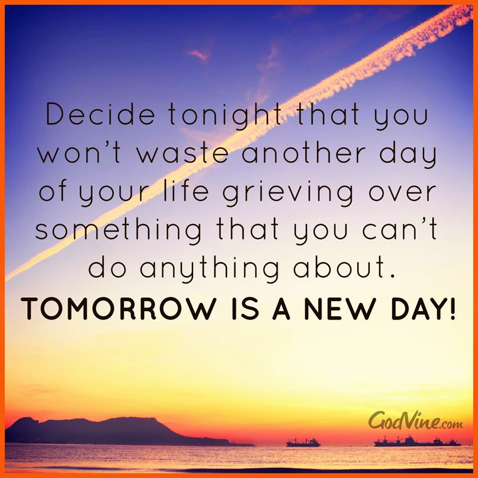 Another Day Of Life Quotes: Tomorrow Is A New Day Quotes. QuotesGram