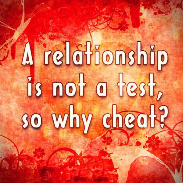 Quotes About Relationships Why: Not Cheating On Test Quotes. QuotesGram