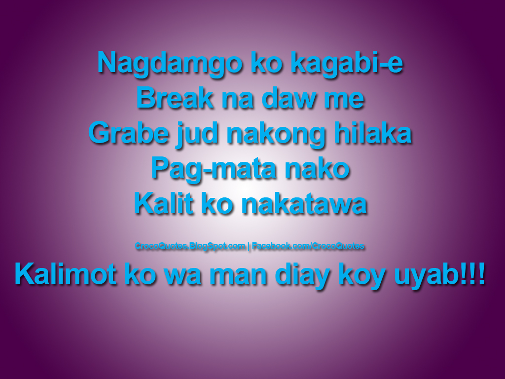 Funny Quotes About Cruise Ships Quotesgram: Funny Bisaya Quotes. QuotesGram