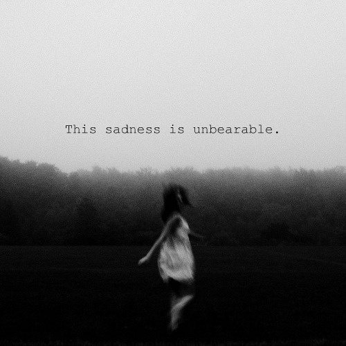 Saying Quotes About Sadness: Deep Dark Scary Depression Quotes. QuotesGram