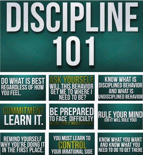 Inspirational Quotes Motivation: Work Discipline Quotes. QuotesGram