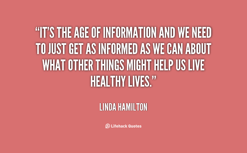 Age And Maturity Quotes Quotesgram: Information Age Quotes. QuotesGram