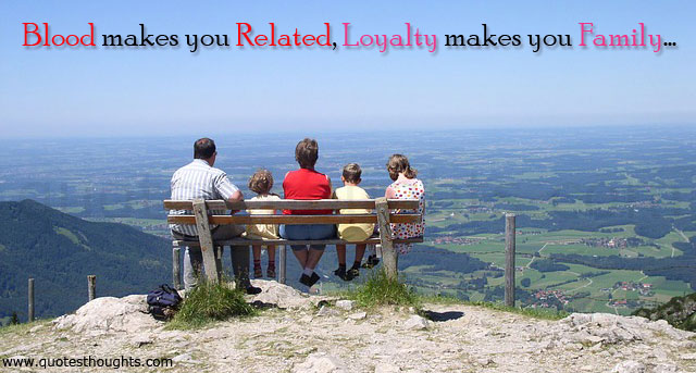 Famous Quotes About Family Loyalty. QuotesGram