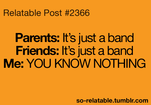band quotes on Tumblr |Tumblur Band Quotes