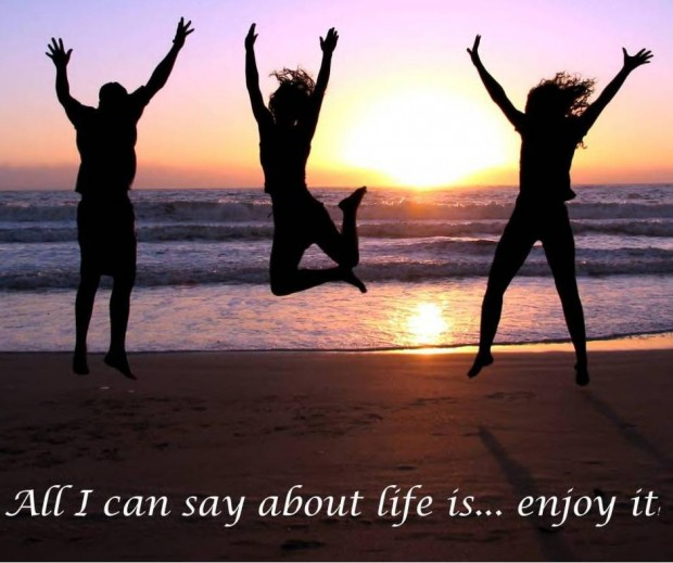 Enjoying My Life Quotes: Quotes About Enjoying Life Now. QuotesGram
