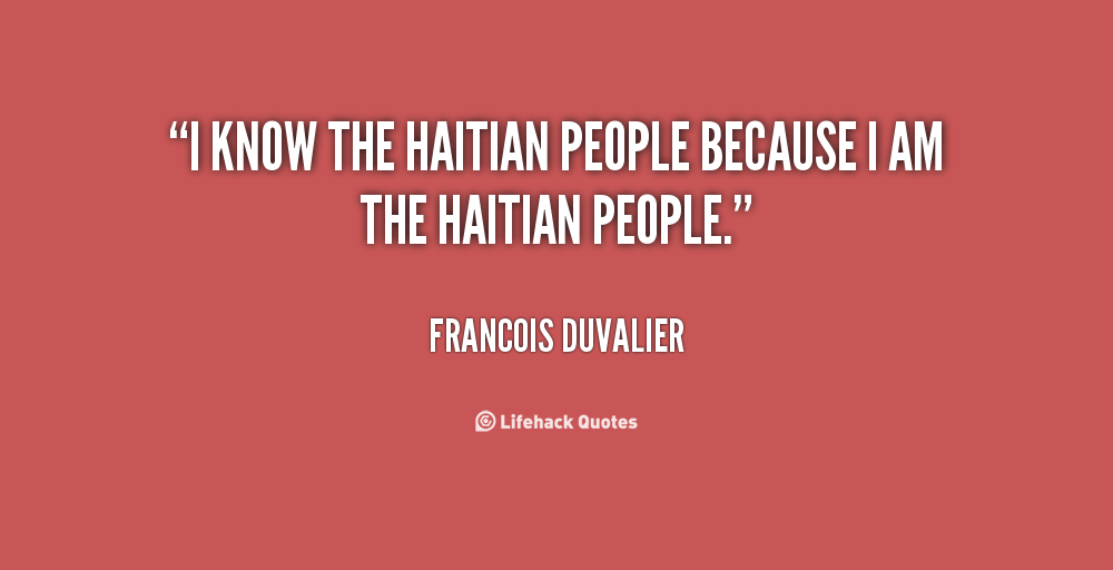 Quotes About Haiti Quotesgram