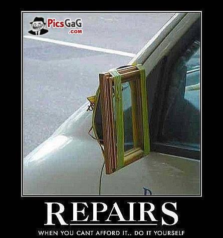 Funny Memes Of Car Repairs