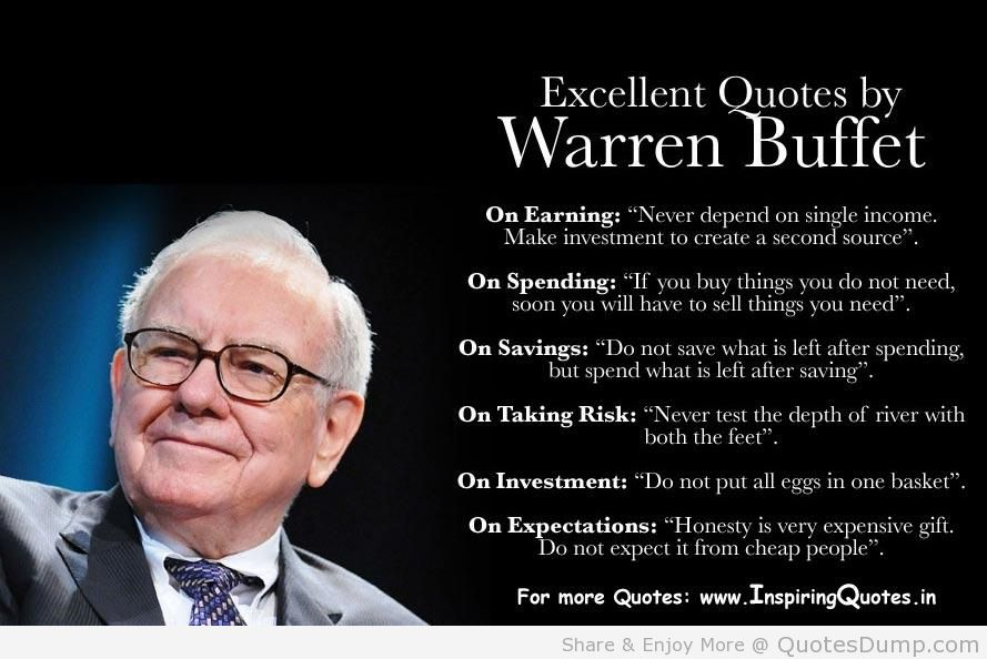 Warren buffet best option for common investor