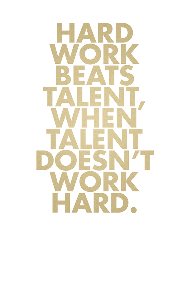 talent or hard work