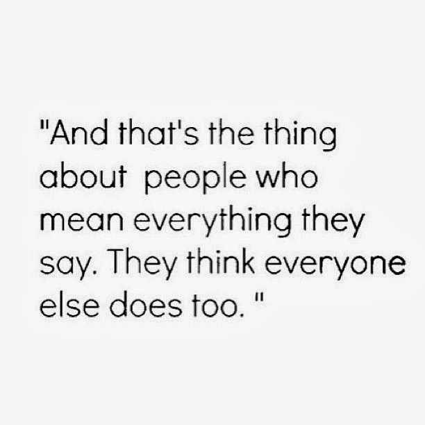 People Say Mean Things Quotes. QuotesGram
