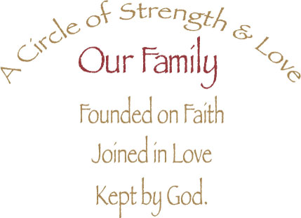 Family Strength Quotes Quotesgram